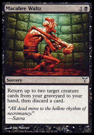 Valse macabre Magic The Gathering