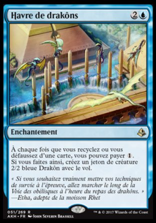 Havre de drakôns Magic The Gathering