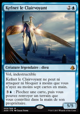 Kefnet le CLairvoyant Magic The Gathering