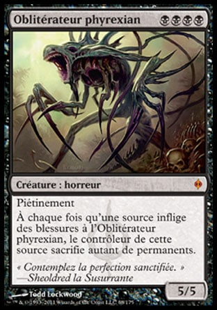 Obliterateur phyrexian Magic The Gathering