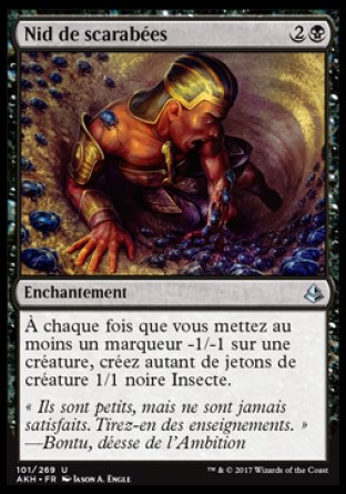 Nid de scarabées Magic The Gathering