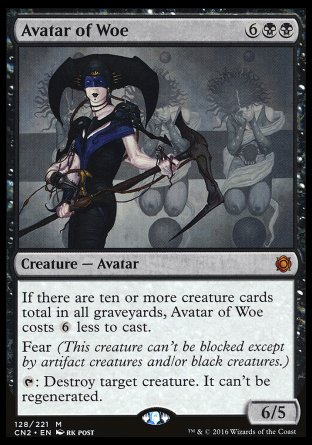 Avatar du malheur Magic The Gathering