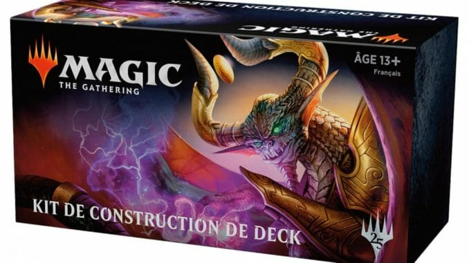 Kit de construction de deck