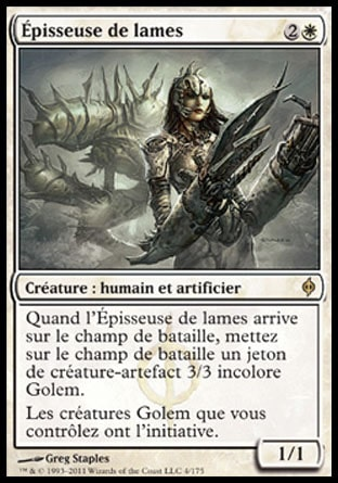 Épisseuse de lames Magic The Gathering