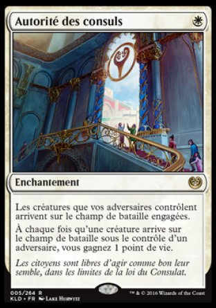 Autorité des consuls Magic The Gathering