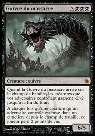 Guivre du massacre Magic The Gathering