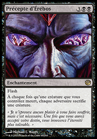 Précepte d'Érébos Magic The Gathering