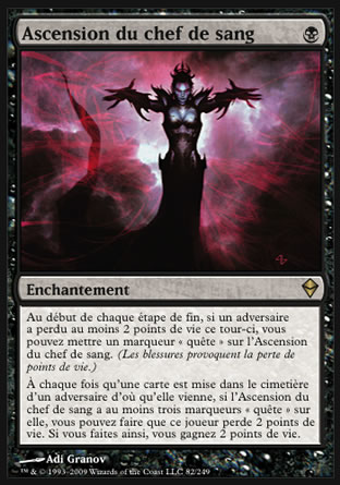 Ascension du chef de sang Magic The Gathering