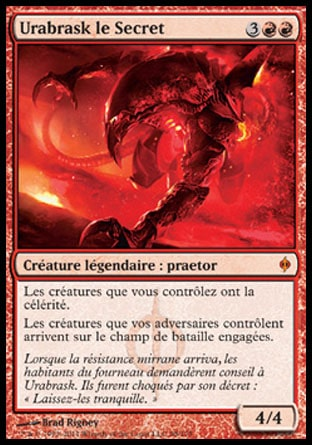 Urabrask le Secret Magic The Gathering