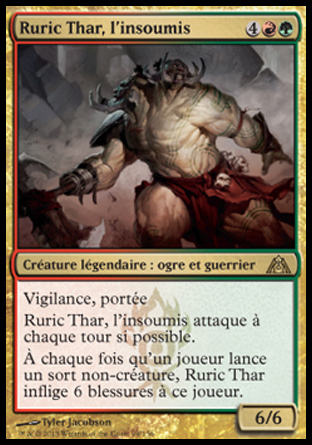 Ruric Thar, l'insoumis Magic The Gathering
