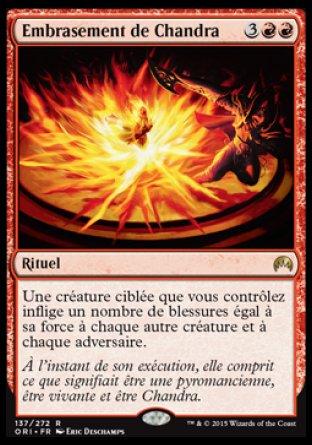 Embrasement de Chandra Magic The Gathering