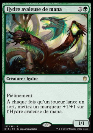 Hydre avaleuse de mana Magic The Gathering