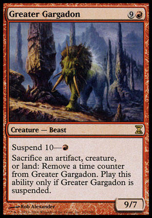 Grand gargadon Magic The Gathering