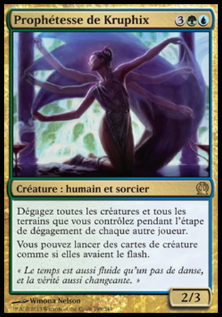 Prophétesse de Kruphix Magic The Gathering