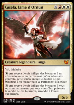 Gisela, lame d'Ornuit Magic The Gathering