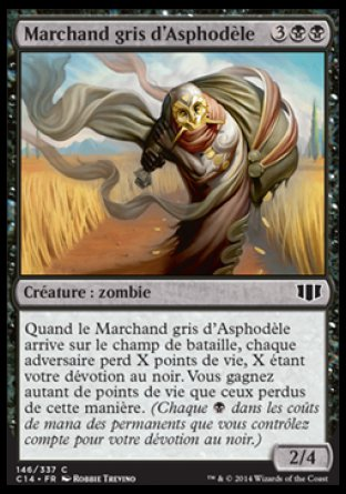 Marchand gris d'Asphodèle Magic The Gathering