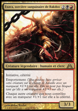 Exava, sorcière sanguinaire de Rakdos Magic The Gathering