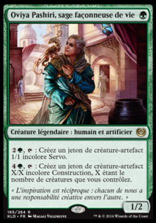 Oviya Pashiri, sage façonneuse de vie Magic The Gathering