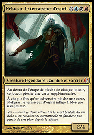 Nekusar, le terrasseur d'esprit Magic The Gathering