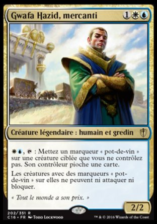 Gwafa Hazid, mercanti Magic The Gathering