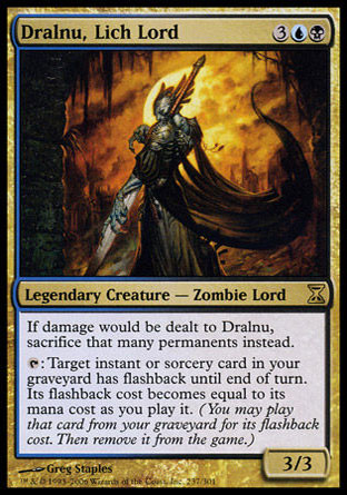 Dralnu, seigneur liche Magic The Gathering