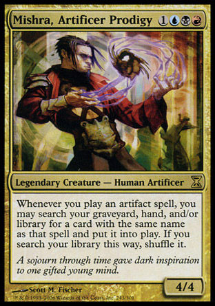 Mishra, prodige artificier Magic The Gathering