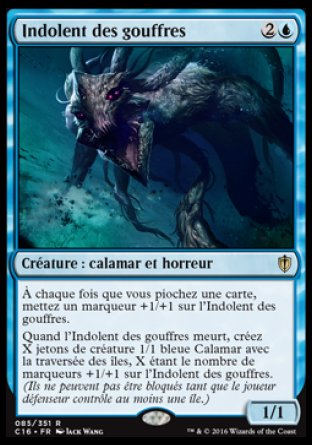 Indolent des gouffres Magic The Gathering