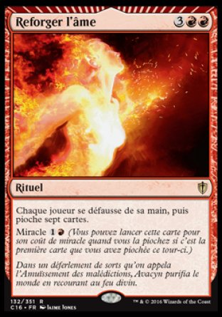 Reforger l'âme Magic The Gathering