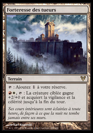Forteresse des tueurs Magic The Gathering