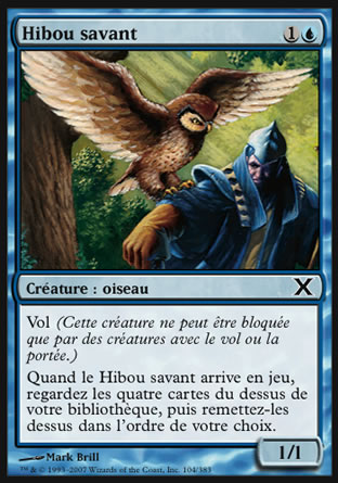 Hibou savant Magic The Gathering