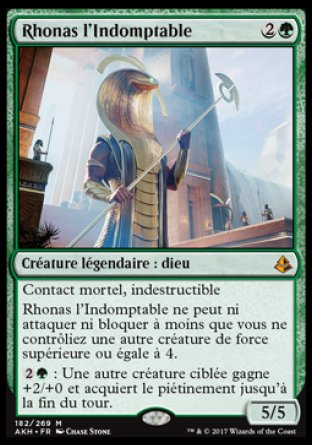Rhonas l'indomptable Magic TheGathering