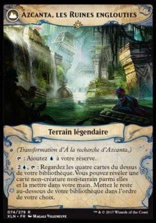 Azcanta, les Ruines englouties