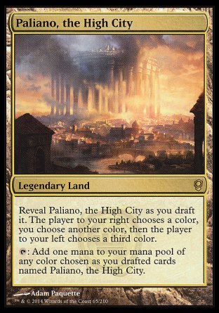 Paliano, the High City Magic The Gathering