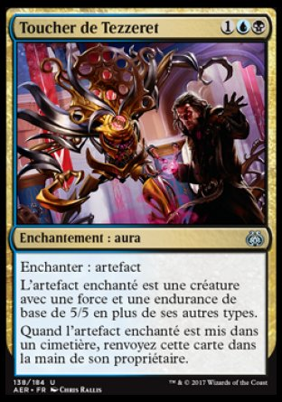Toucher de Tezzeret Magic The Gathering