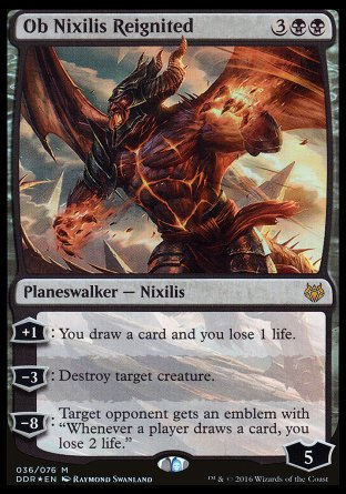 Ob Nixilis ravivé