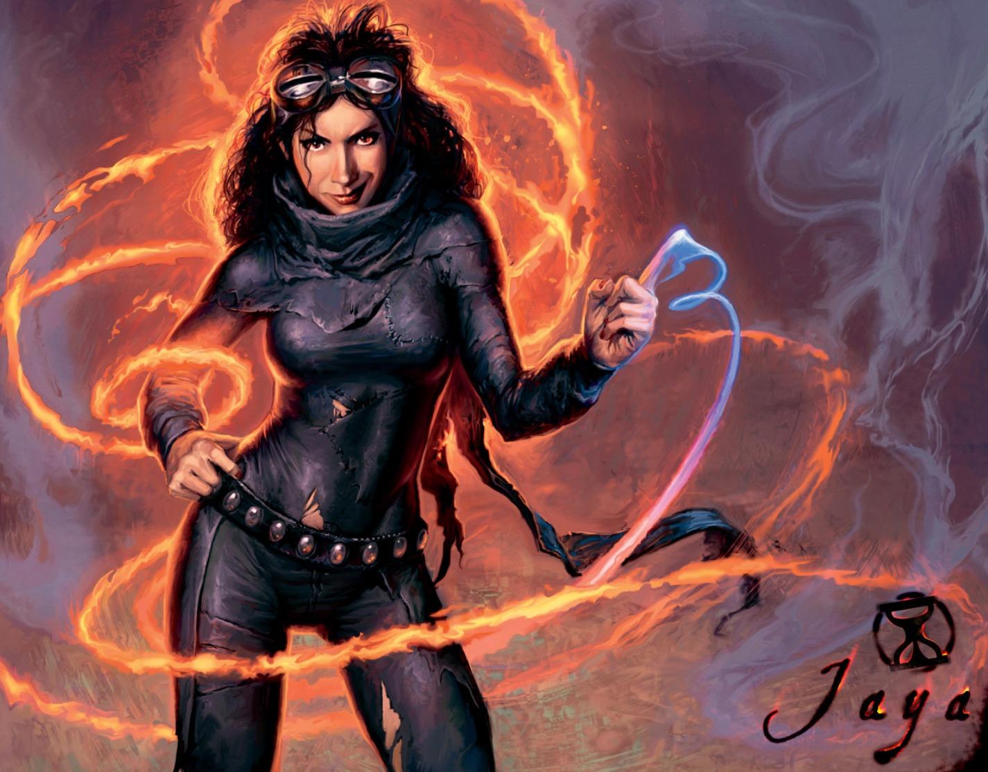 Jaya Ballard, mage de force