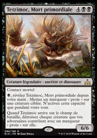 Tetzimoc, Mort primordiale