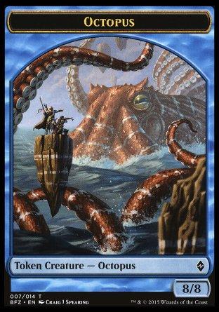 Octopus jeton
