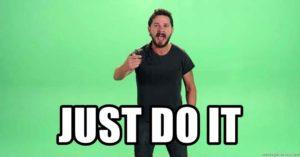 Just do it même