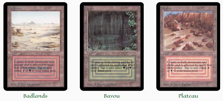 Original Dual Lands