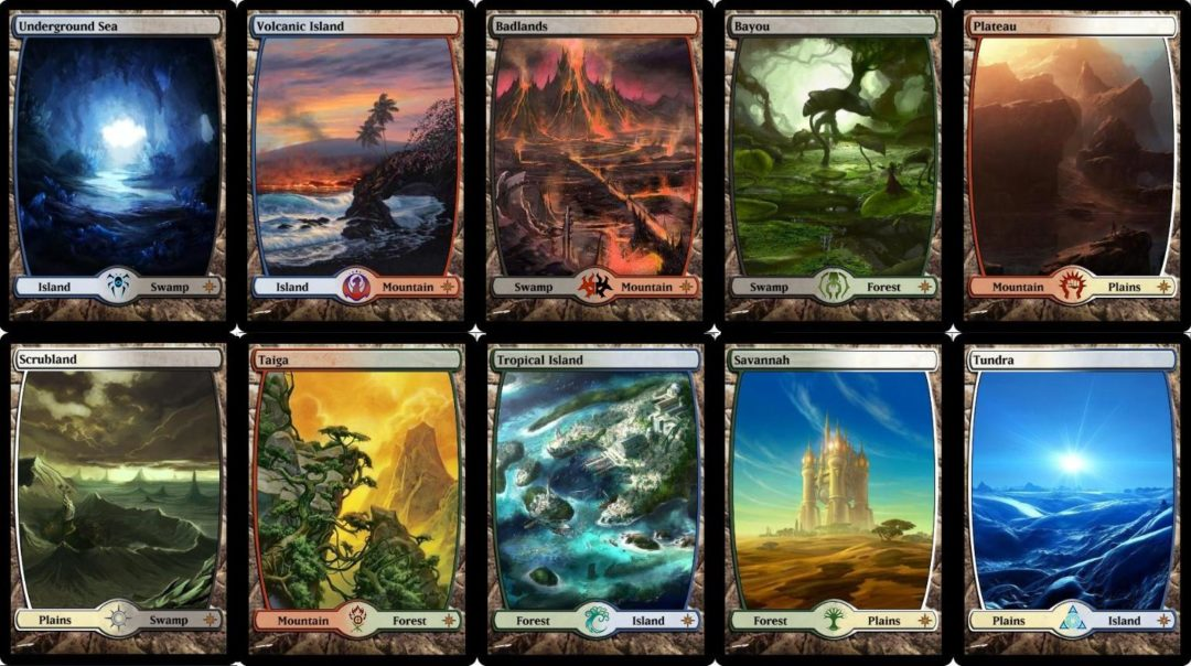 Proxies dual lands