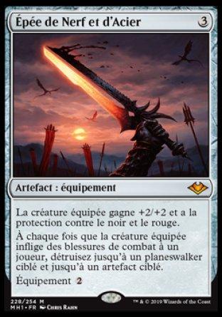 Épée de Nerf et d'Acier