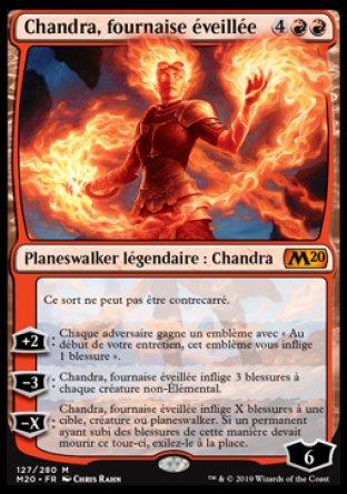 Chandra, fournaise éveillée