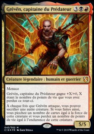 Grêvën, capitaine du Prédateur