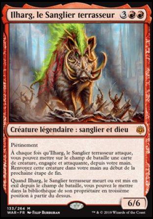 Ilharg, le Sanglier terrasseur