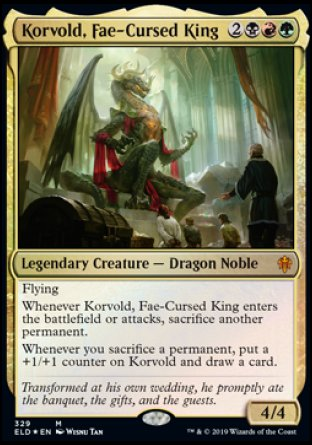 Korvold, roi maudit par les fæs