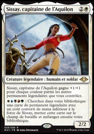 Sissay, capitaine de l'Aquilon