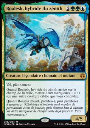 Roalesk, hybride du zénith