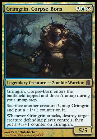 Grimgrin, né des cadavres